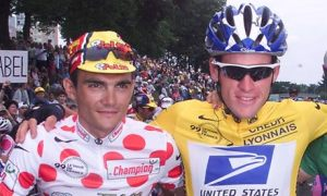 Lance Armstrong and Richard Virenque