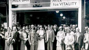A National Milk Bar 1935