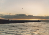 Sunset from Ayr