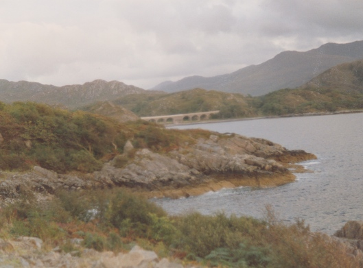 between F William and Arisaig