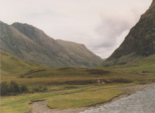 Glencoe - Inside the caldera