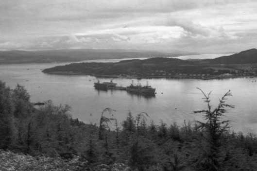 Holy Loch 1973. photographer unknown