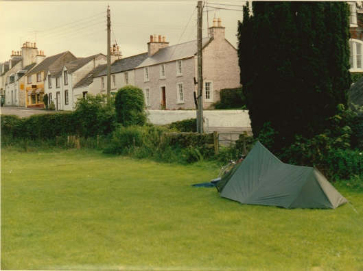tent at Dalry
