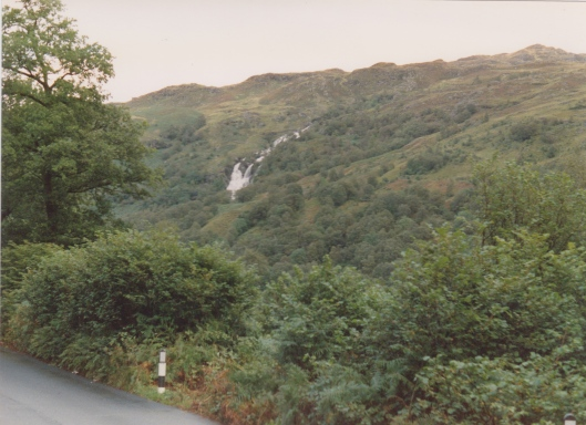 waterfall by loch lomond 1