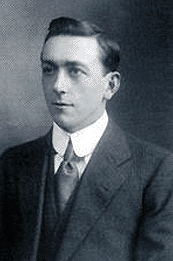 Arthur Holmes as a young man