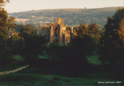 Melrose Abbey '87-001