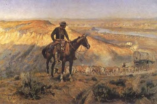 Wagon Boss by Charles Russell 1909