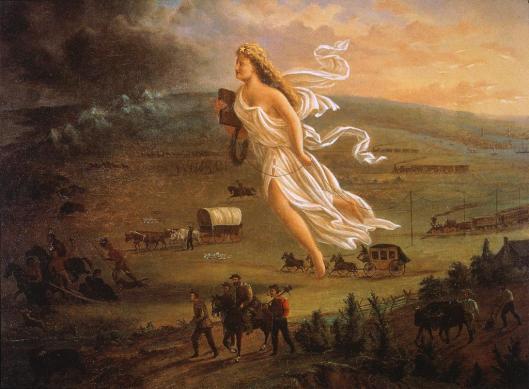 John Gast: American Progress 1872