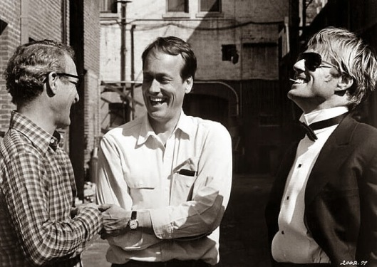 Redford and Newman with George Roy Hill